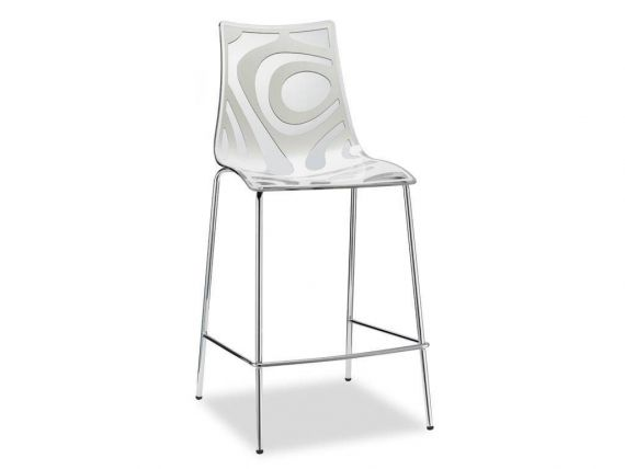 Stool in technopolymer Wave 65