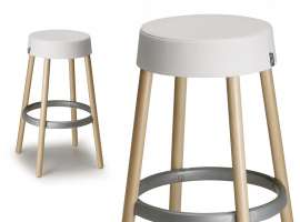 Wooden stool Natural Gim