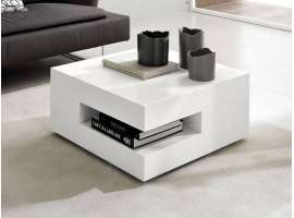 Square table basse de salon