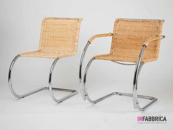 Reed chair Mies Van der Rohe