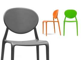 Polypropylene chair Gio