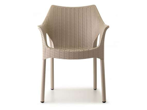 Polypropylene weaved chair Olimpia Trend