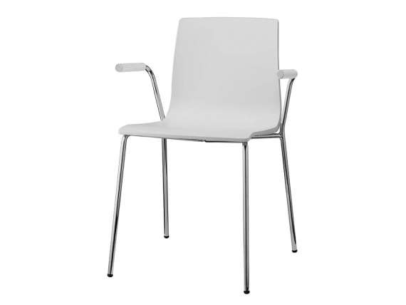 Chair with open armrest Alice