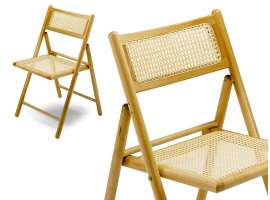 Folding wooden chair 188