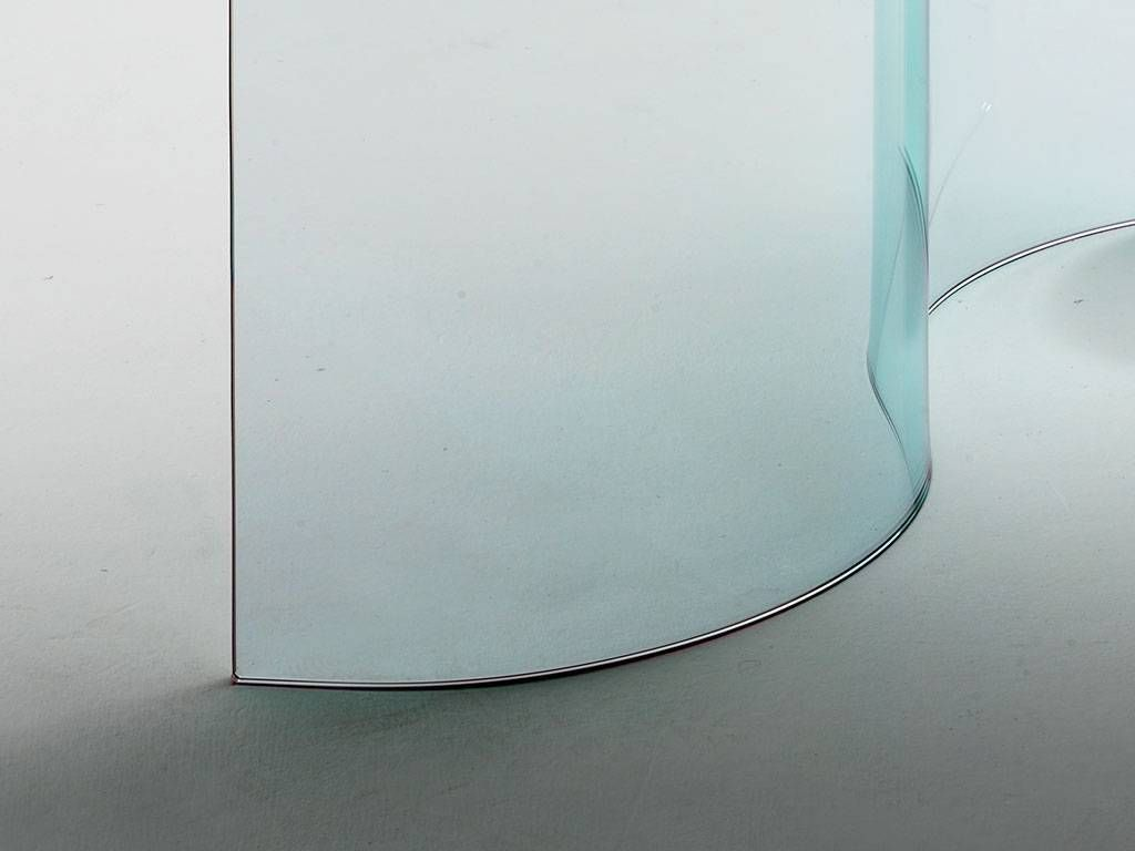 Consolle In Curved Glass Mantra
