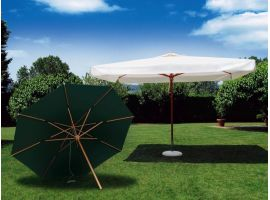 Alghero quad garden umbrella