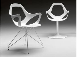 Armachair in technopolymer Dafne 163