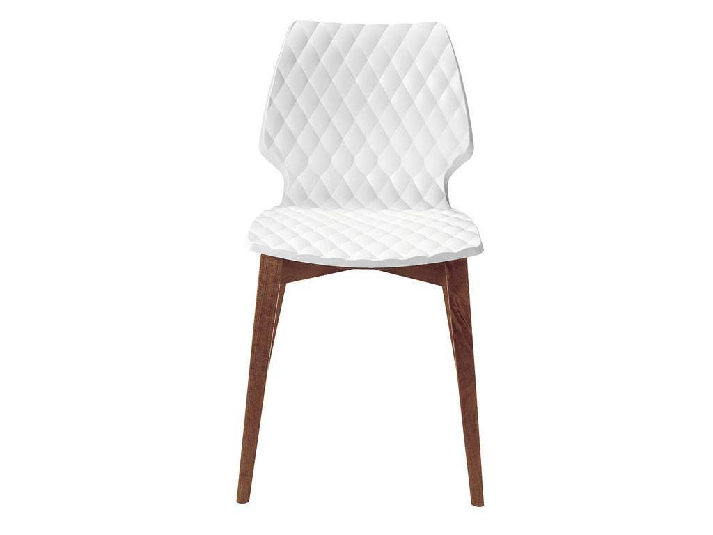 chairs plastic chairs uni 562 polypropylene chair with wooden legs
