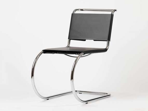 Chair Mies Van der Rohe in leather