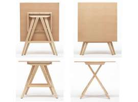 Wooden folding table Enea
