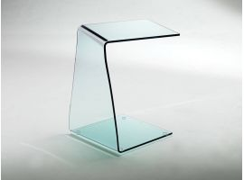 Little table in curved glass Wry