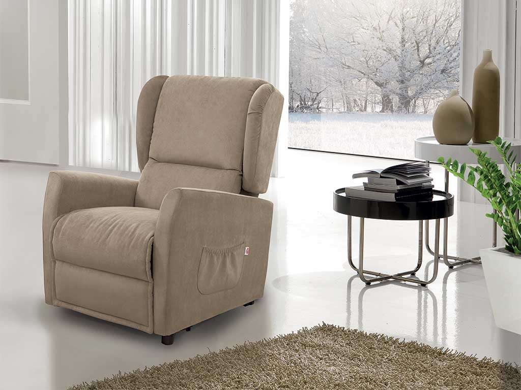 Recliner armchair for the elderly - Verbena