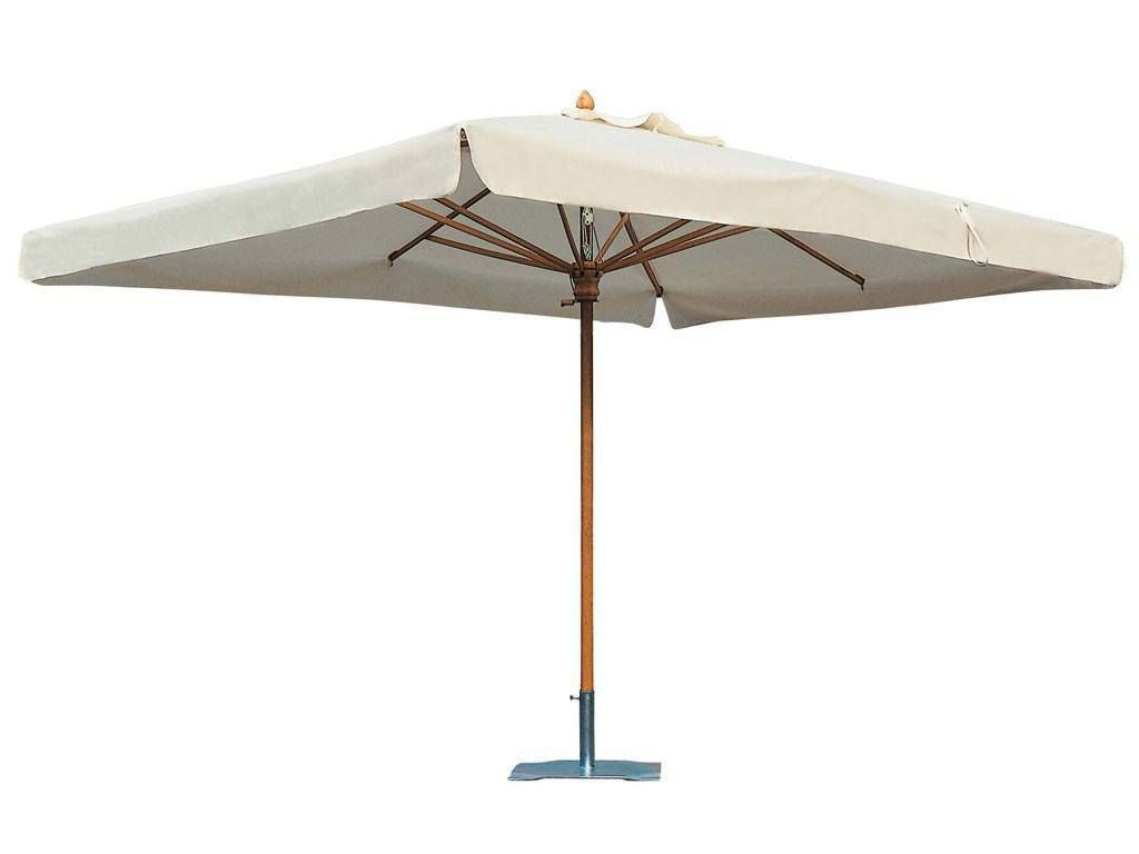 alghero rectangulaire parasol pour le jardin. Black Bedroom Furniture Sets. Home Design Ideas