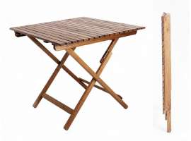 Folding wooden table Zeus
