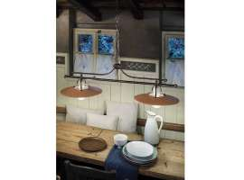Country chic lamp Bologna C826 BL