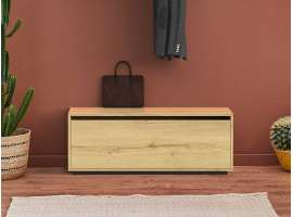Wooden chest of drawers - entryway cabinet - Rainbow