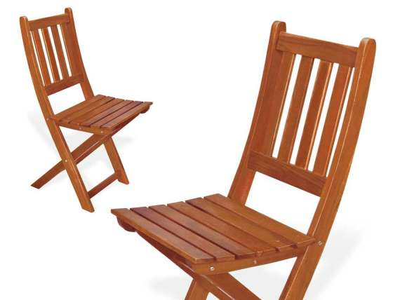 Outdoor foldable chairs Gelsomino