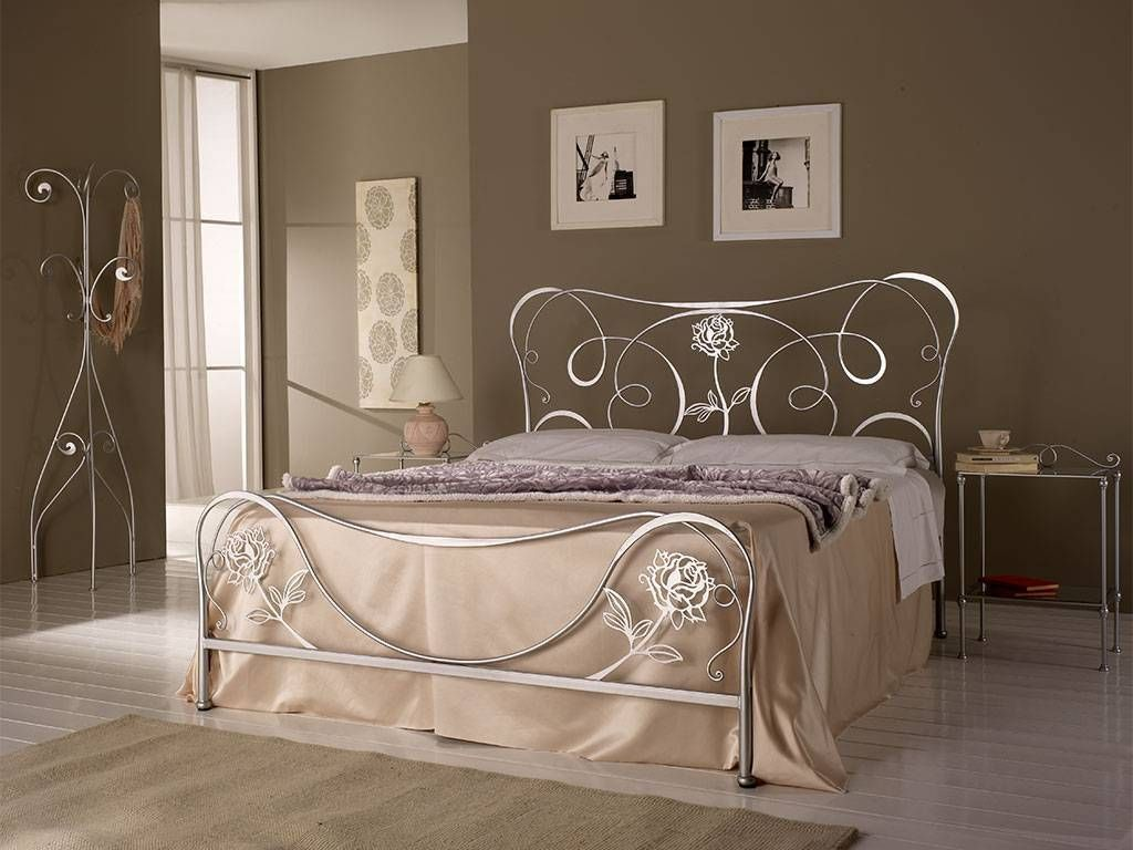 Adele Wrought Iron Bed