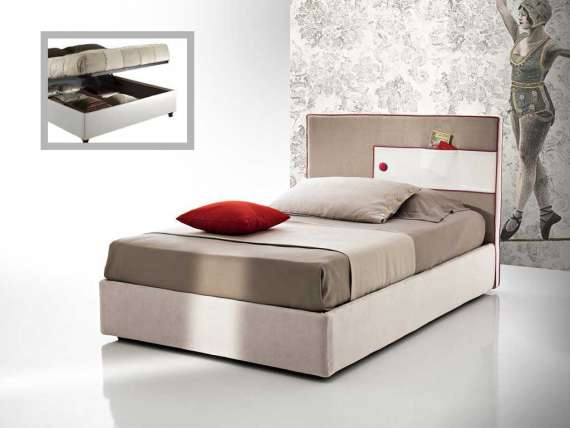 Small Double Bed With Headboard Pocket, What Is Size Of Small Double Bed