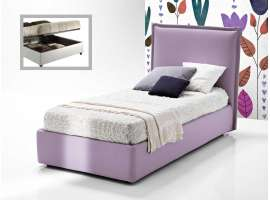 120 bed with headboard Mila