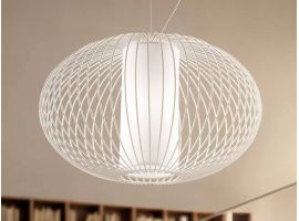 Titti S3 ceiling lamp with threadlike structure