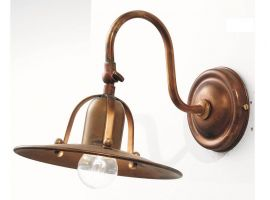 Applique Lampe aus Messing Osteria 839/42