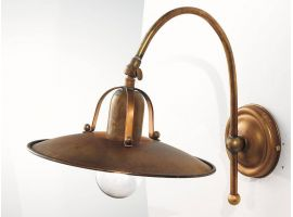 Applique lamp in brass Osteria 839/43