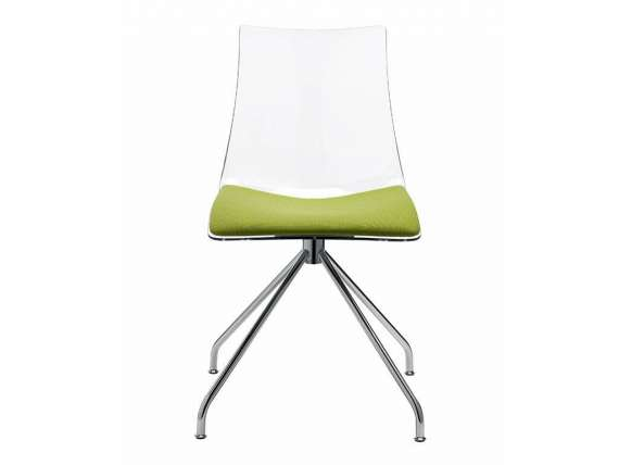 Trestle chair with pillow 2606 ZEBRA ANTISHOCK