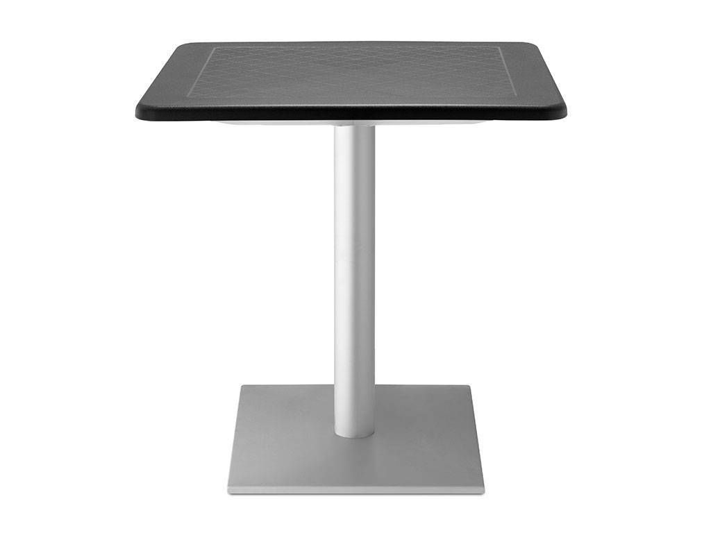 Dodo outdoor square little table 80x80 in polypropylene for Table 80x80