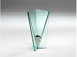 Umbrella stand in glass Goccia