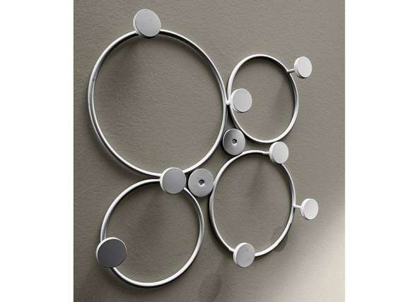 Bubble wall coat rack