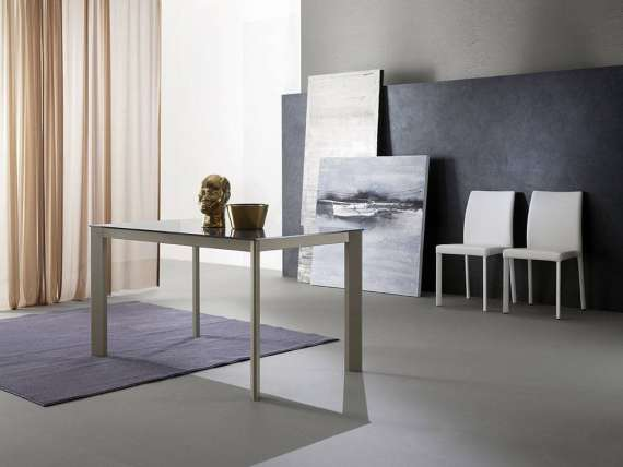 Meeting glass 160 table extensible