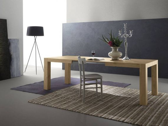 Nordik table extendible