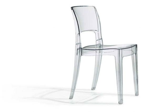 Chair in polycarbonate Isy Antishock