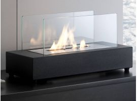 Kobuk table fireplace
