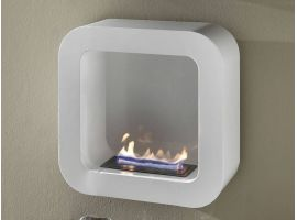 Katmai wall fireplace