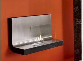 Mesa wall fireplace