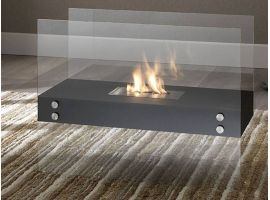Sequoia floor fireplace