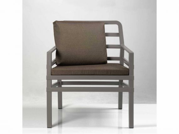 Aria Armchair DOVE-GREY in polypropylene