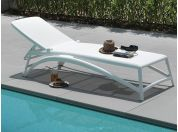 WHITE sunbed Atlantico