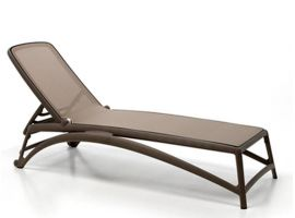 DOVE-GREY sunbed Atlantico
