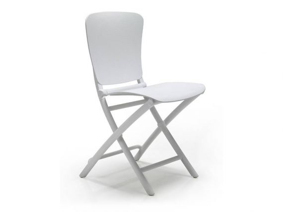 Folding chair in polypropylene Zac Classic
