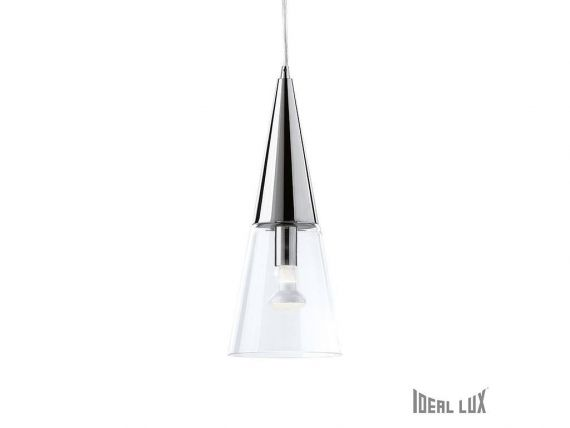 Cono SP1 hanging lamp with diffusor in glass