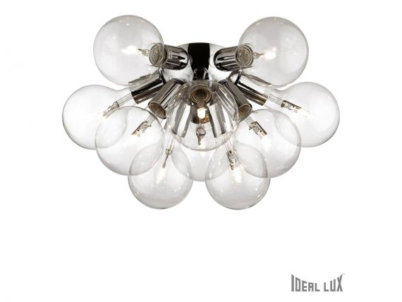 Dea PL10 hanging or wall applique in chromed metal