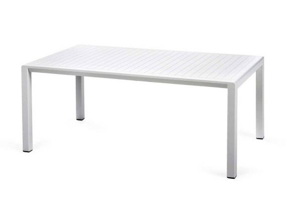 Aria 100 little table in polypropylene