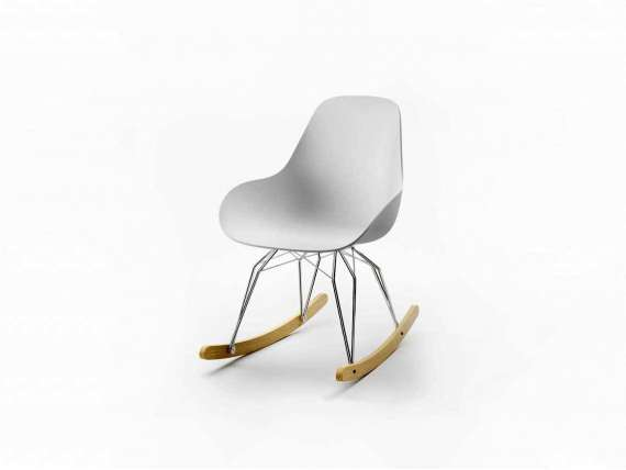 Design Rocking chair Diamond Dimple Closed