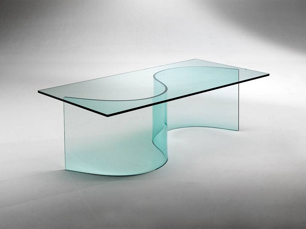Handmade Dining Room Table Curved Glass Base For Glass Table Siddartha