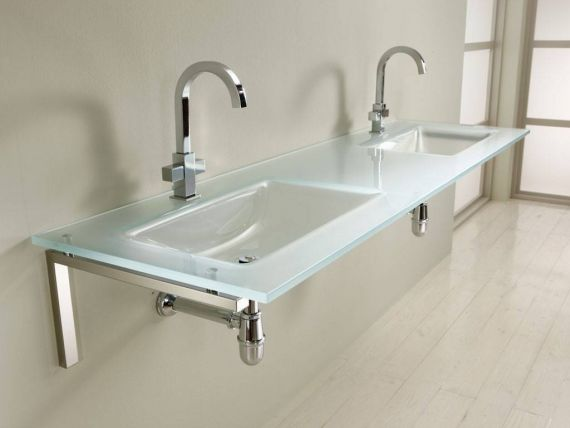 Bering 1-2 crystal sink