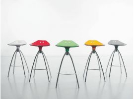 Sgabello design Frog 65