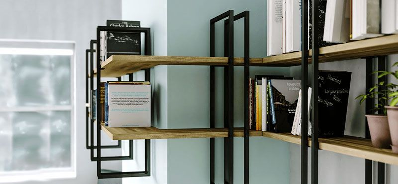 Modular bookcase Shell